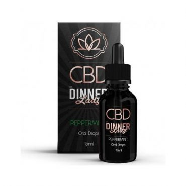 Dinner Lady Oral Drops Peppermint 30ml
