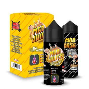 Mad Juice – Strawffee 20ml/100ml bottle flavor
