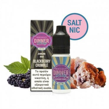 Dinner Lady Blackberry Crumble Nic Salt 20mg 10ml