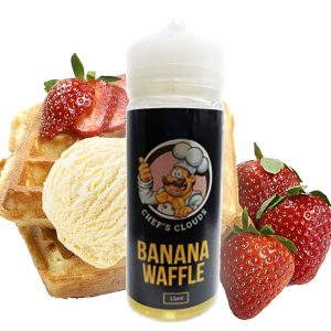 Blackout Chef's Clouds Banana Waffle Flavorshot 36/120ml